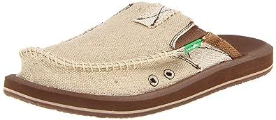 Mens Sanuk Men's M You Got My Back II Slip On Sandal Best Deals Size 42