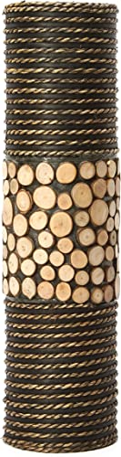 Hosley s Natural Cylinder Tall Floor Vase 20 High. Ideal Gift for Weddings, Home, Nautical Party, Spa, Meditation, Nautical Natural Home decor, Spa, Reiki O6