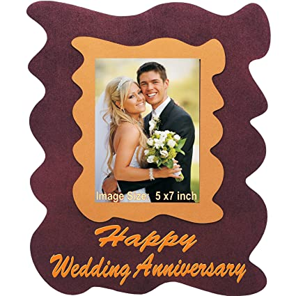 Buy Wedding Anniversary Gift Unique Designer Wall Photo Frame With
