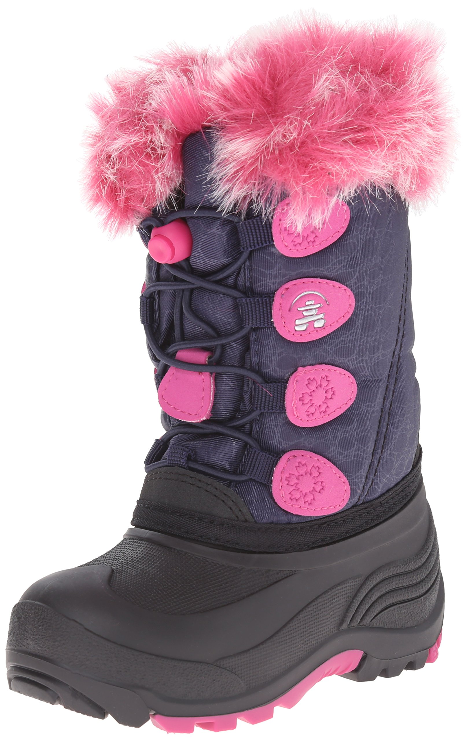 Kamik Snowgypsy Kids Winter Boot (Toddler), Navy, 10 M US Toddler