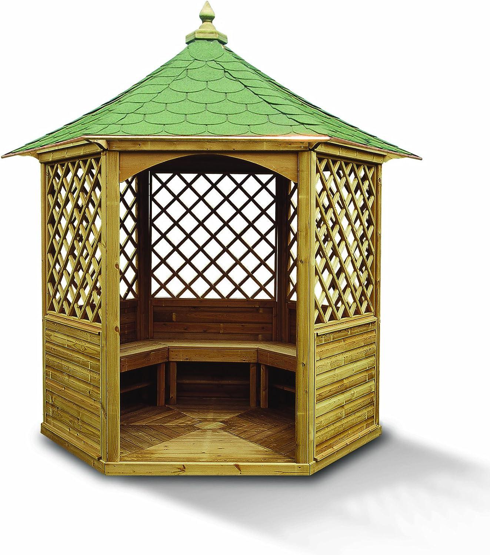 Harewood Gazebo de Mosaico (Compacto): Amazon.es: Jardín