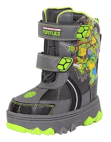 Amazon.com: Teenage Mutant Ninja Turtles TMNT Snow Boots Boys ...