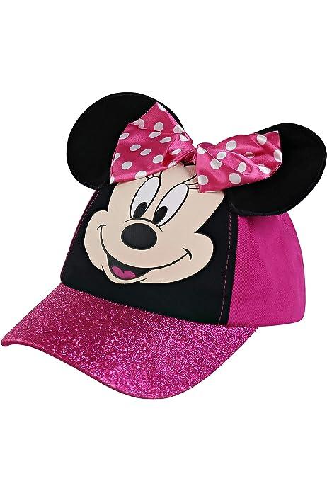 Kids Boys Girls Mickey Minnie Mouse Baseball Cap Snapback Sport Sun Hat Cap