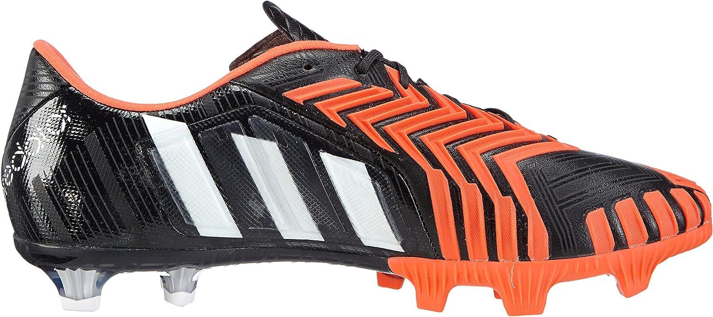 adidas Predator Instinct FG Herren Fußballschuhe Schwarz Core Black Ftwr White Solar Red
