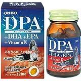 オリヒロ DPA+DHA+EPA+VitaminE 120粒
