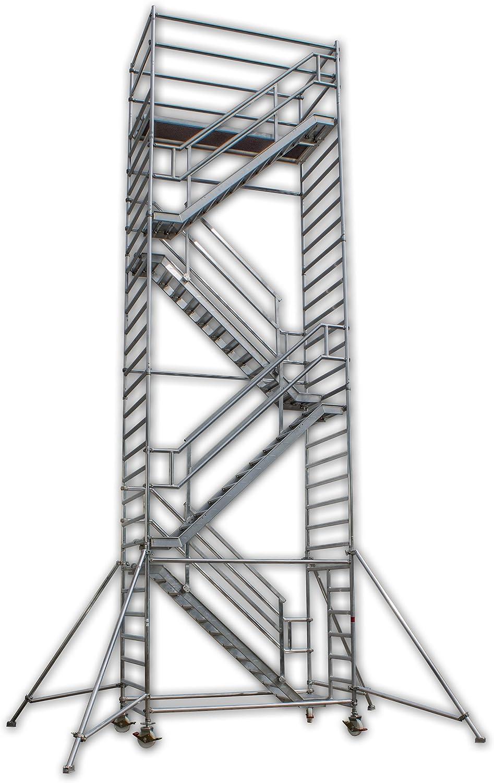 A&M de las escaleras de la torre Eiffel de altura de trabajo de 14 ...