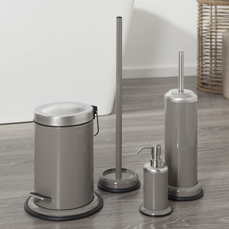 Sealskin Dispensador de Jab/ón Acero Blanco 9.2 x 10.2 x 17.8 cm Acero Inoxidable