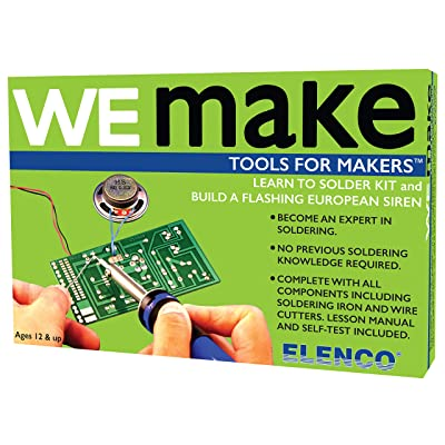Elenco AmeriKit Learn to Solder Kit: Toys & Games
