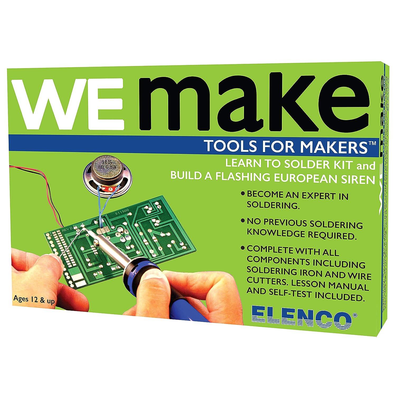 Elenco AmeriKit Learn to Solder Kit on