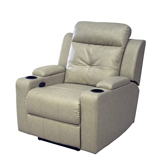 Amazing Amazon Com Ac Pacific Aviator Power Reclining Chair Caraccident5 Cool Chair Designs And Ideas Caraccident5Info