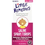 Little Remedies Little Noses Saline Spray/Drops, 1 Ounce