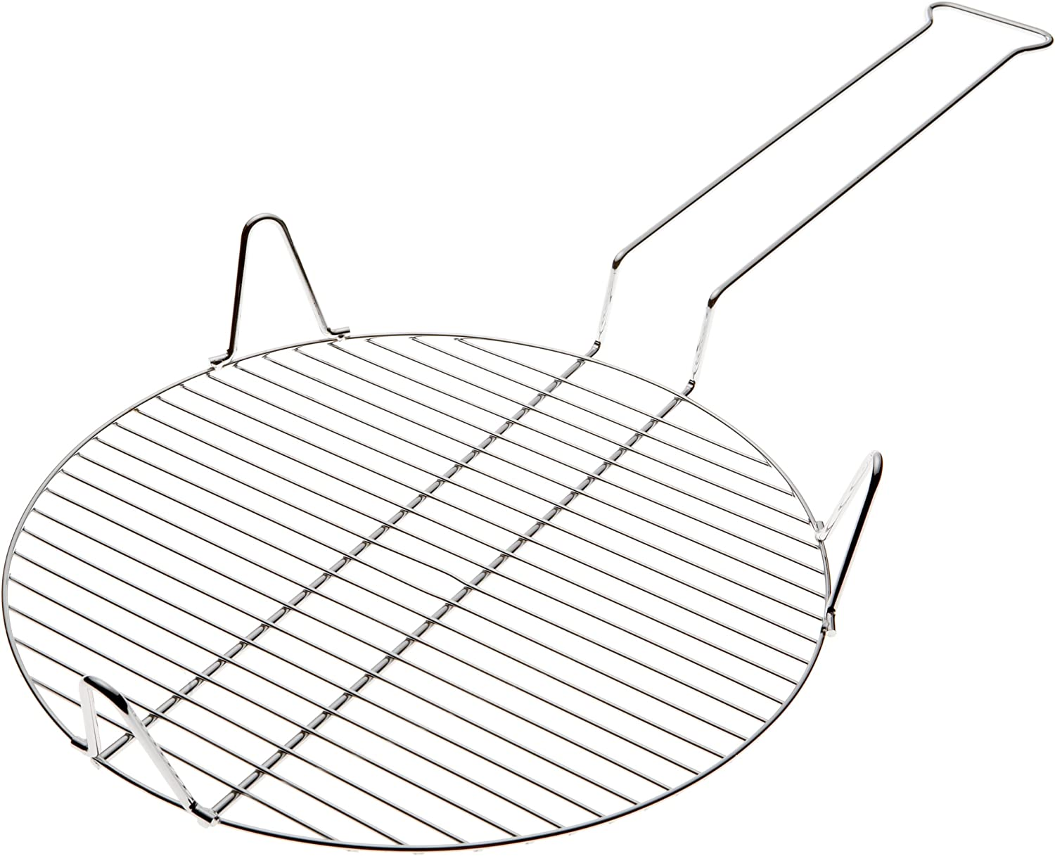 Chrome Plated Steel Romes #65 14 Inch Outdoor Pizza Grill