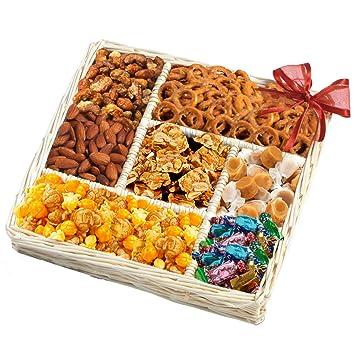 Image Unavailable  sc 1 st  Amazon.com & Amazon.com : Gourmet Sweet and Savory Nut Gift Basket : Gourmet ...