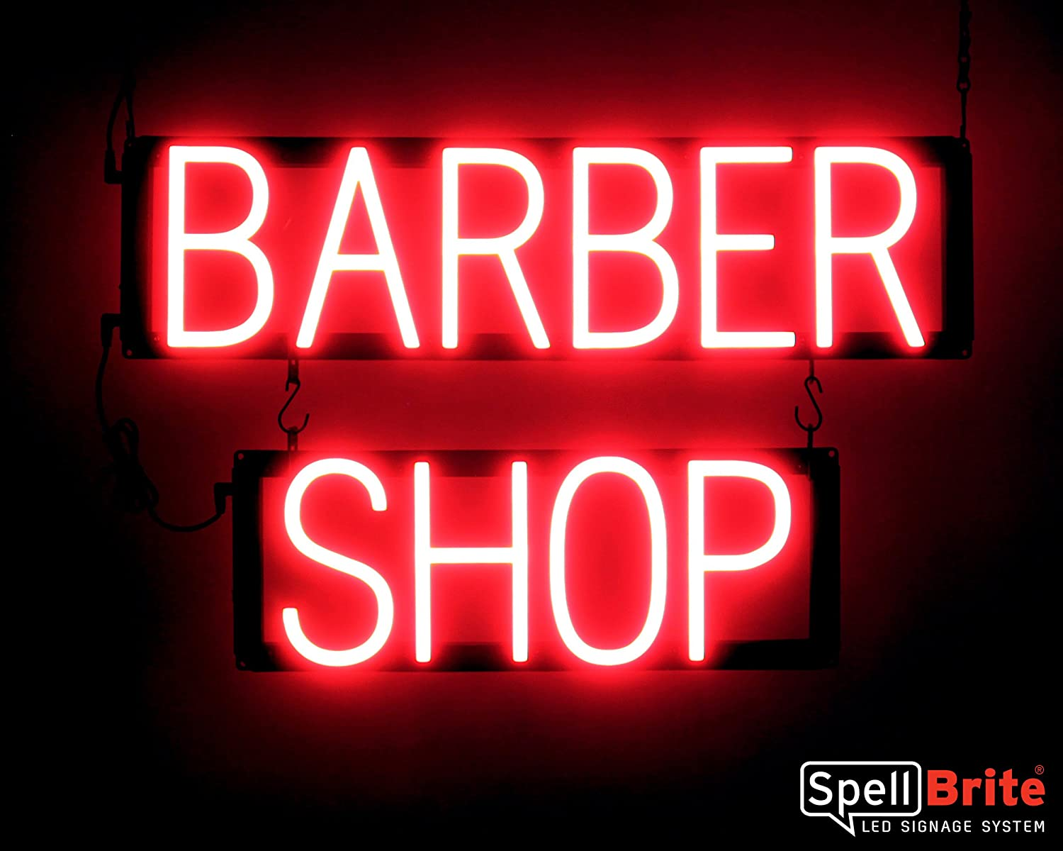 Neon look, LED power SpellBrite Ultra-Bright HAIR /& NAILS Sign Neon-LED Sign