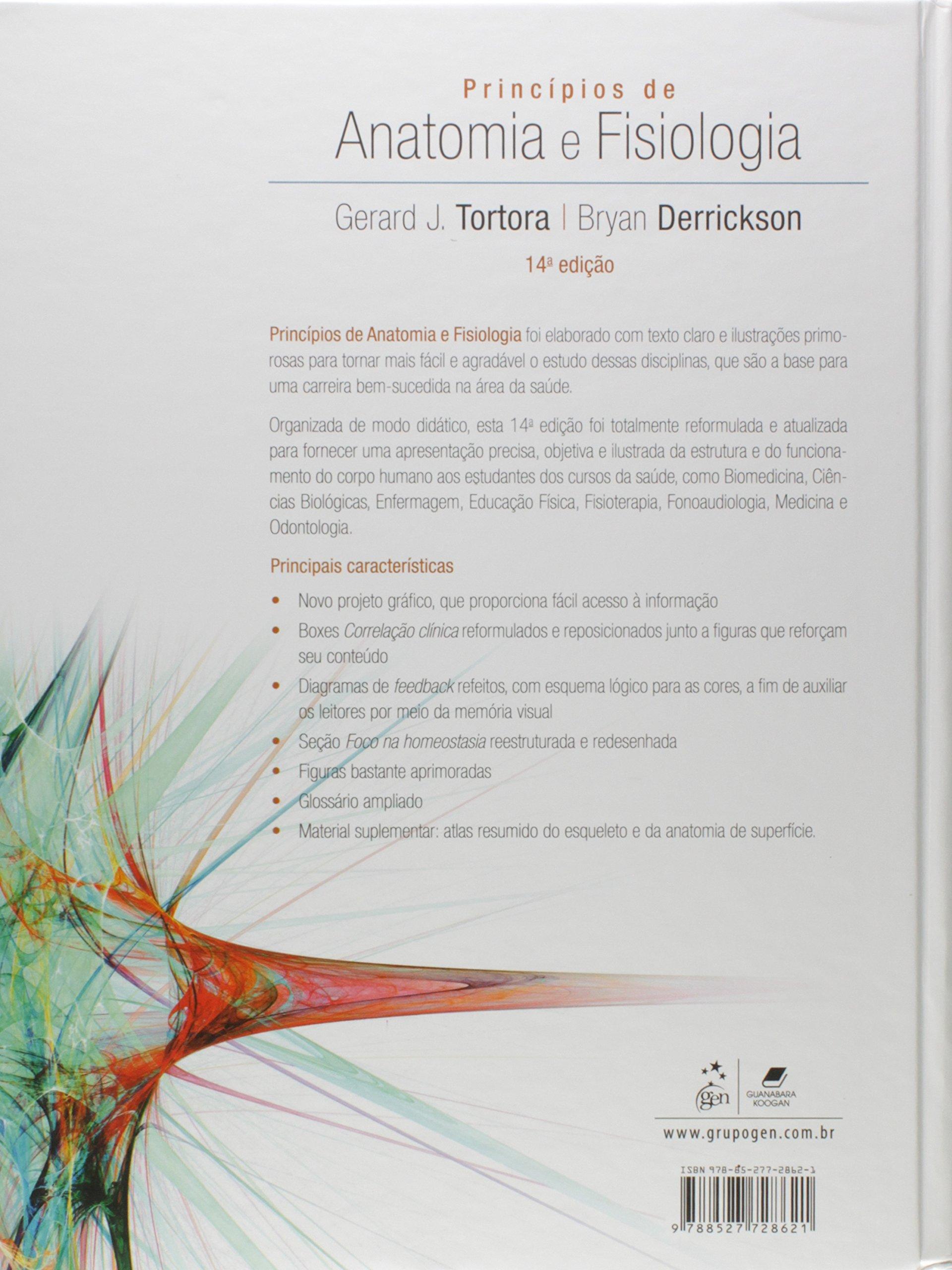 Princípios De Anatomia E Fisiologia: Gerard J. Tortora: Amazon.com ...