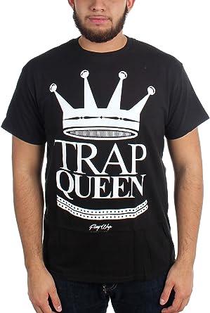Fetty Wap - Mens Trap Queen T-Shirt, Large, Black: Amazon.co.uk: Clothing