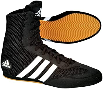 Hog Boots uk Amazon Outdoors co Black amp; Box Boxing Sports Adidas B75wqTn