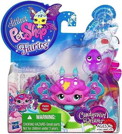 Amazon.es: Littlest Pet Shop Fairies CANDYSWIRL DREAMS Pack ...