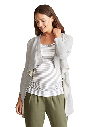 deab5a4cd1da3 Ingrid & Isabel Women's Maternity Drape Front Cardigan at Amazon Women's  Clothing store: