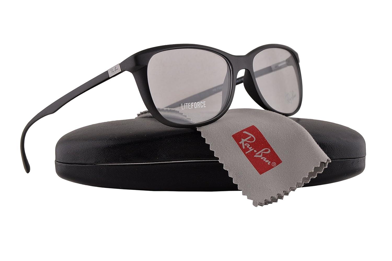 5c56f17b0a5ef Ray-Ban RX7024 Eyeglasses 54-16-145 Matte Black 5204 RB7024 RX 7024 RB 7024   Amazon.ca  Clothing   Accessories