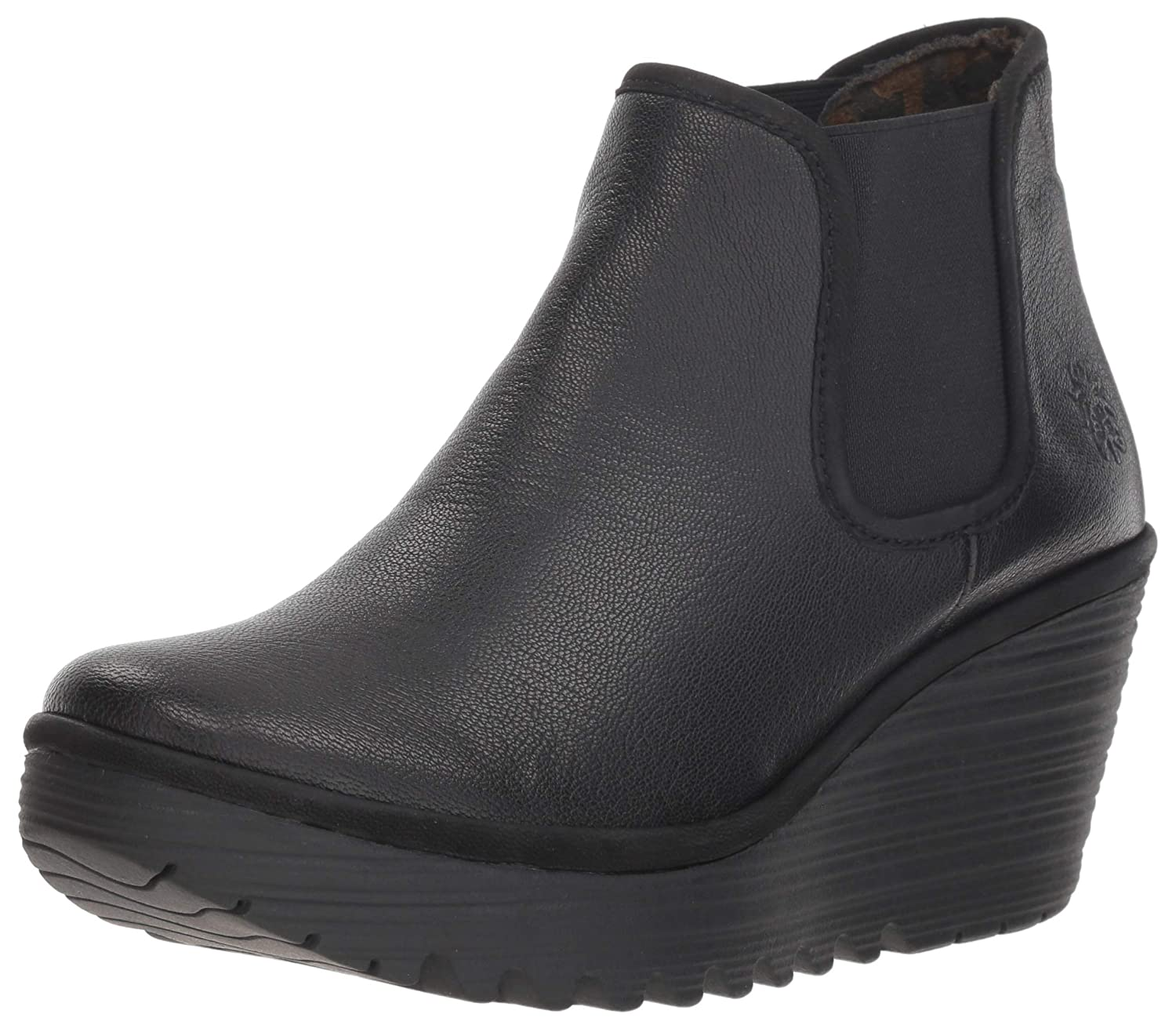 Fly London Stiefel Kurzschaft Damen Yat 2IeWEbDYH9