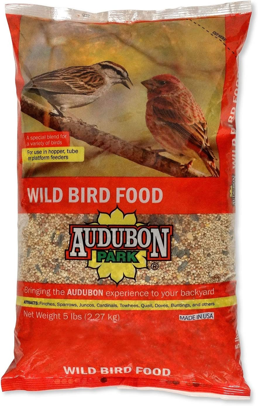 Audubon Park 12249 Wild Bird Food, 5-Pounds