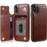 cover Wallet Case For iPhone X S Max