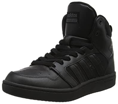 Mens Cloudfoam Super Hoops Mid Hi-Top Trainers adidas 8K5VR6