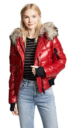 20ba7245e SAM. Women's Skyler Short Down Jacket Fur