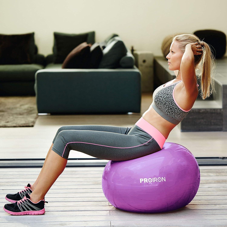 Yoga Exercice Gym Entraînement Ballon de grossesse boule bearthing Suisse Yoga stabilité