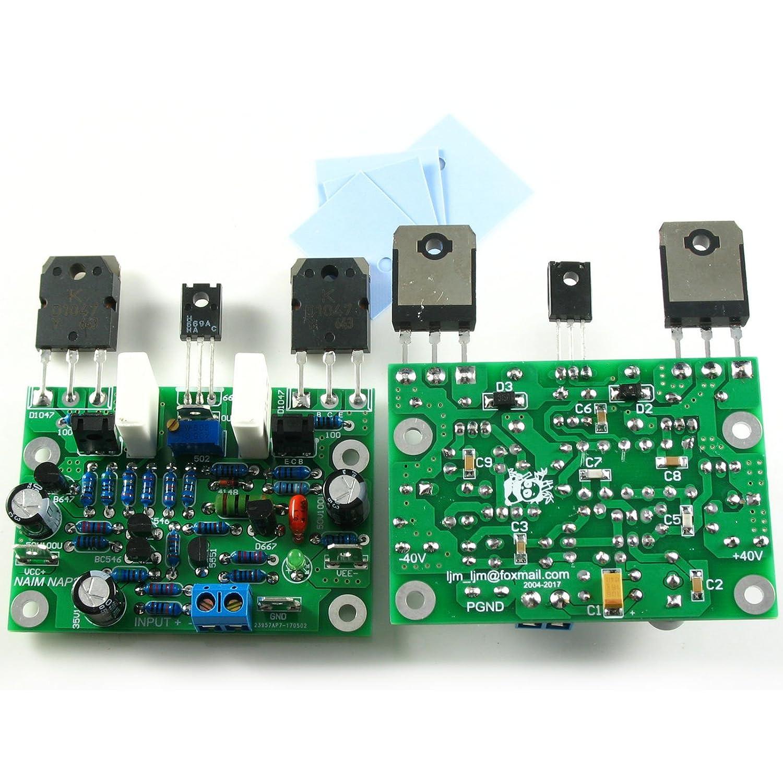 NAIM NAP250 MOD CLONE Assembled Class AB Dual Stereo Amplifier Board