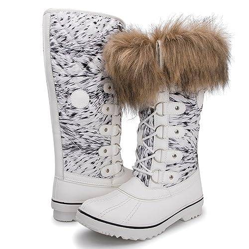 fd97d92b17 Kingshow Women's Globalwin Waterproof Winter Boots