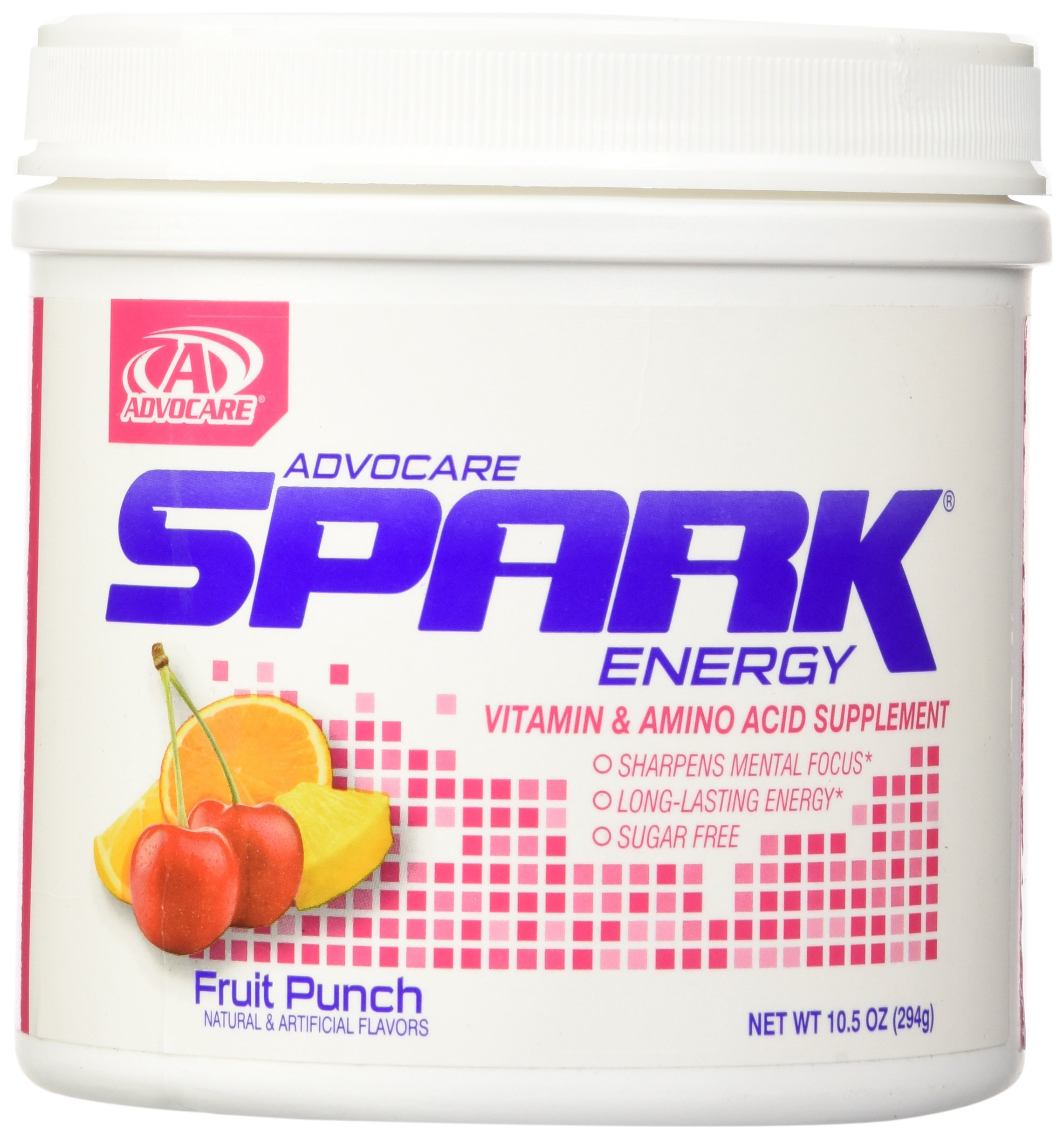 AdvoCare Spark Canister (Fruit Punch), 10.5 Ounce by AdvoCare