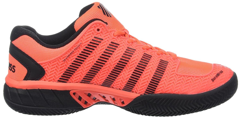 K Swiss Hypercourt Express HB Naranja Fluor: Amazon.es: Deportes y ...