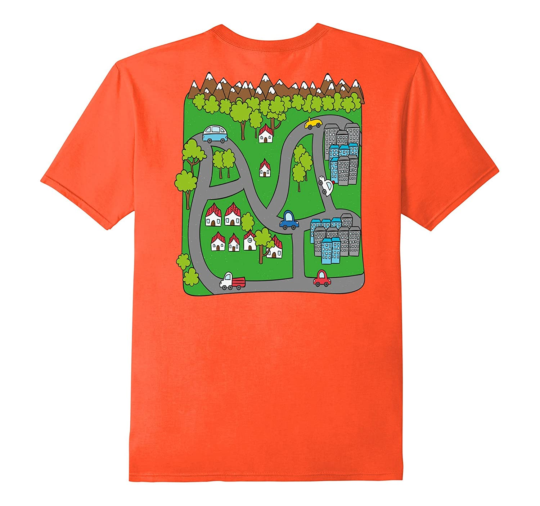 Car Road Race Track Play Mat Rug T-Shirt