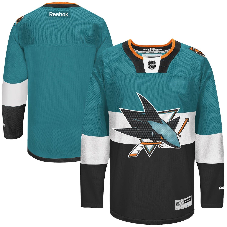 ... San Jose Sharks Blank Infants 12-24 Months NHL Reebok Stadium Series  Jersey free shipping Athletic Knit Old ... c8765c389
