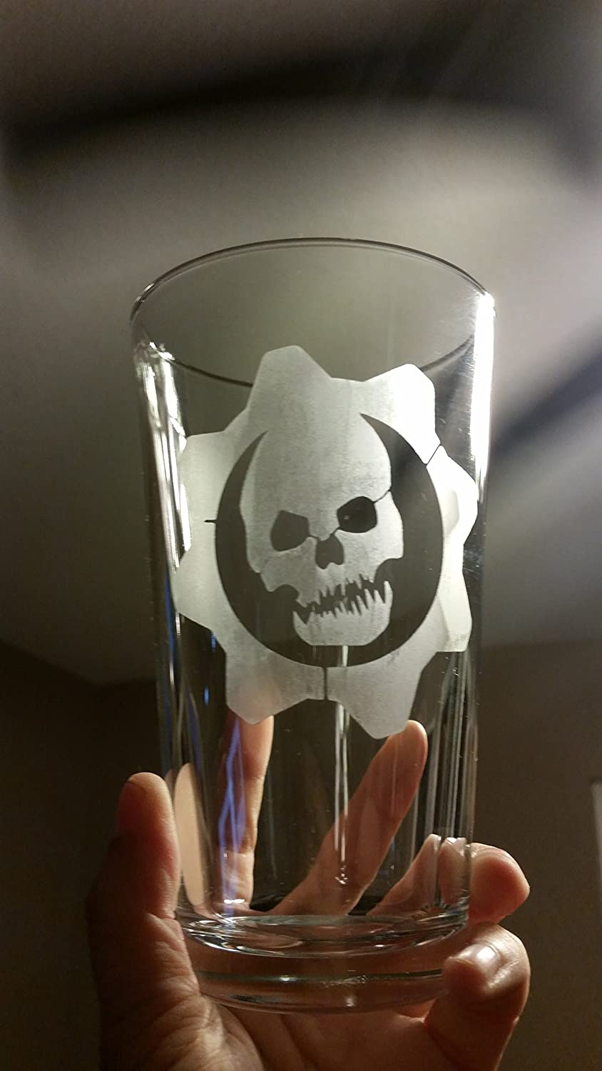 Gears Of War Pint Glass Beer Cup
