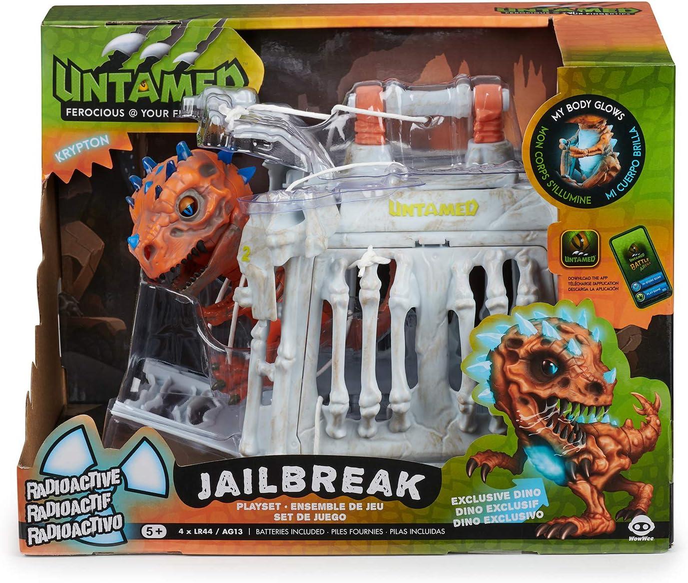 Untamed Radioactive T-Rex Orange X-Ray - Interactive Toy
