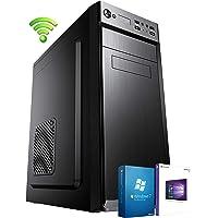 PC DESKTOP COMPUTER FISSO▬LICENZA WINDOWS 10/7 PRO▬ASSEMBLATO COMPLETO Intel QUAD-CORE fino a 2.3 GHZ▬RAM 8GB▬HD 1TB▬WIFI▬MASTERIZZATORE▬DILC GREEN HIGH