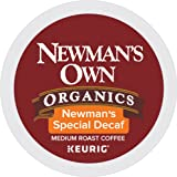 Newman's Own Organics Newman's Special Decaf Keurig Single-Serve K-Cup Pods, Light Roast Coffee, 24 Count