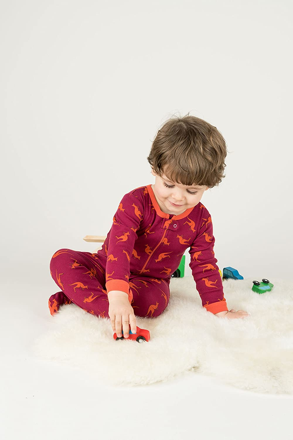 Leveret Baby Boys Footed Pajamas Sleeper 100/% Cotton Kids /& Toddler Owl Pjs 6