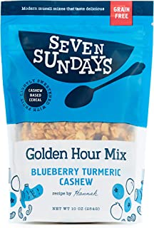 product image for Seven Sundays Golden Hour Turmeric Grain Free Muesli Cereal (10 Oz) | Paleo Friendly | Gluten Free Certified | No Refined Sugar | Non-Gmo Verified