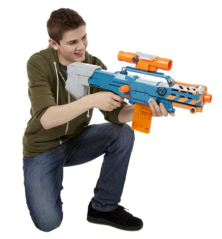 Hasbro Longshot Nerf A9546EU50 - Zombie Strike Longshot Hasbro CS-12, Spielzeugblaster d9e692