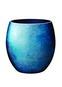 Stelton Stockholm Horizon Vase, Bleu, Medium