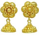 Indienne Bollywood Ethnique Jhumka Boucles D'Oreilles Cadeau Traditionnel De Bijoux Pour Les Femmes