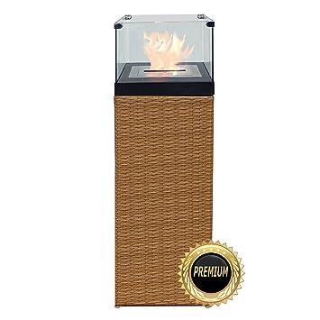Bio Ethanol Feuersäule Feuerschale Feuerstelle Feuerkorb Kamin ... Farbe Fur Kamin
