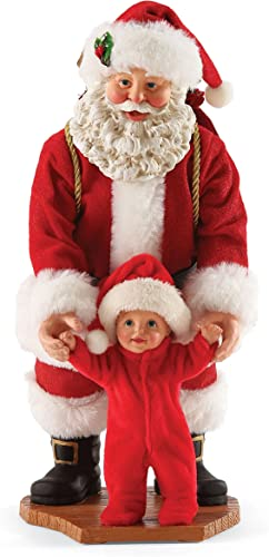 Department 56 Possible Dreams First Steps Santa, 9 inch