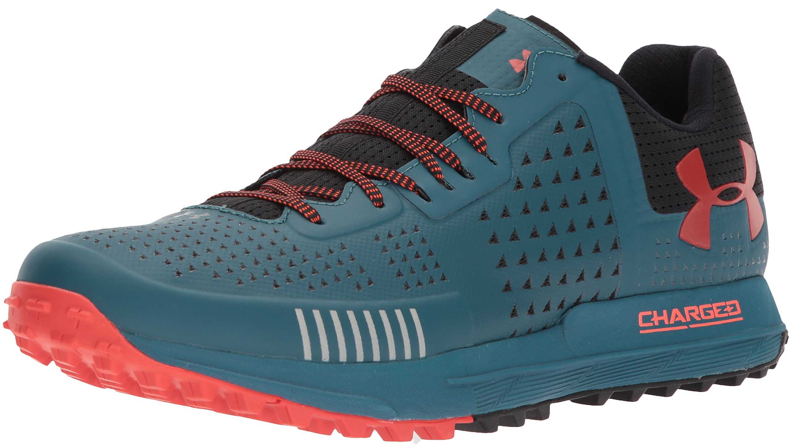Under Armour Men's Horizon RTT Running Shoe, Tourmaline Teal (300)/Black, 8.5 by Under Armour