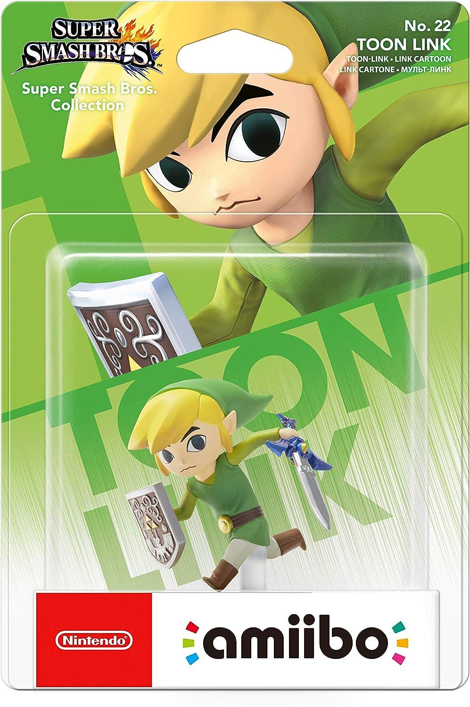 Nintendo - Figura Amiibo Smash Toon Link: Amazon.es: Videojuegos