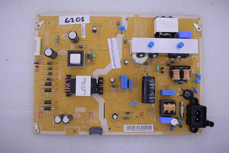 Samsung UN55J6201AFXZA L55H1_ESM(BN44-00774A) Power SUPPLYBOARD 6205 Unidad de Fuente de alimentación: Amazon.es: Electrónica